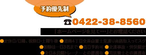 電話:0422-38-8560